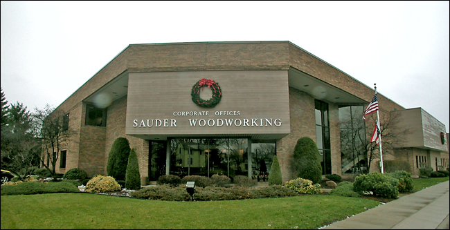 Sauder Woodworking Co. headquarters in Archbold, Ohio